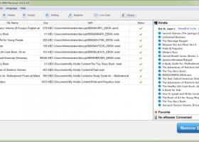 Epubor Kindle DRM Removal for Windows 7 - Remove Kindle eBooks DRM
