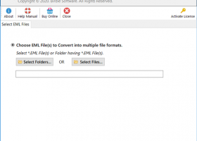EML to PST Converter 64 bit screenshot