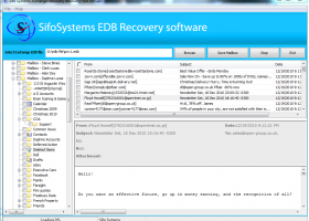 Recover Exchange Server screenshot