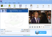 Lionsea FLV To WMV Converter Ultimate screenshot