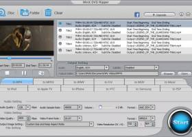 WinX Free DVD Ripper screenshot