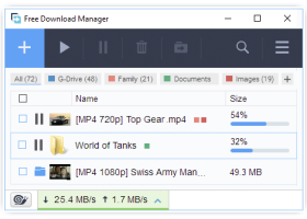 Free Download Manager screenshot