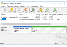 BestCrypt Volume Encryption screenshot