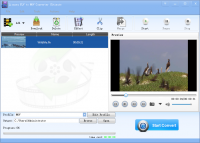 Lionsea FLV To MOV Converter Ultimate screenshot