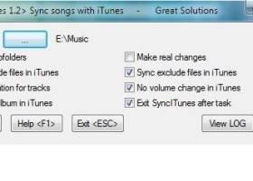 SyncITunes screenshot