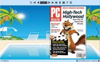 PDF to Flash Converter Themes For Holiday Beach screenshot