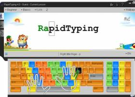 RapidTyping screenshot