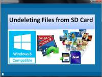 Undeleting Files from SD Card screenshot