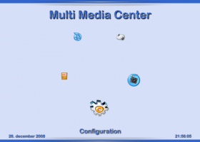 Multi Media Center screenshot
