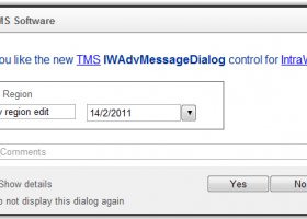TMS IntraWeb Component Pack Pro screenshot