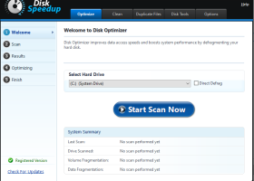 Disk Speedup screenshot