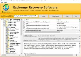 EDB to PST Recovery Software screenshot