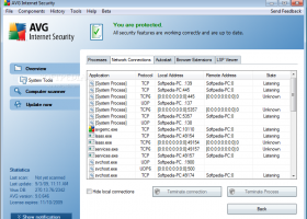 AVG Internet Security 2012 (x32 bit) screenshot