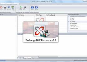 SysInfo Exchange BKF Recovery screenshot
