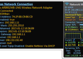 Network Meter screenshot