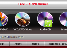 Free CD DVD Burner screenshot