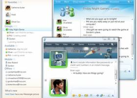 Windows Live Messenger screenshot
