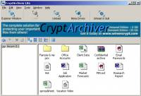 CryptArchiver screenshot
