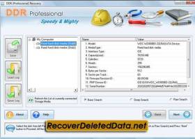 Recover Deleted Data screenshot