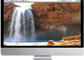 Indian Waterfall Screensaver screenshot