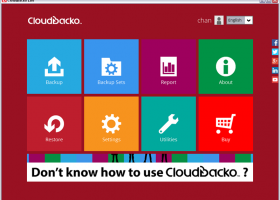 CloudBacko Lite for Windows screenshot