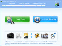 Memory Stick Recovery Pro screenshot