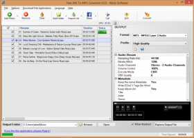 Free APE To MP3 Converter 4dots screenshot