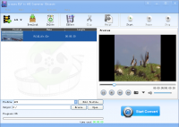 Lionsea FLV To AVI Converter Ultimate screenshot