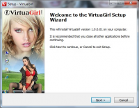 VirtuaGirl HD screenshot