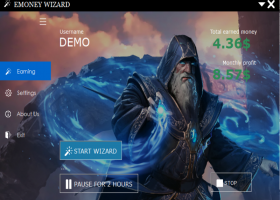 Earn Money Wizard screenshot