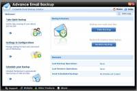 Advanced Email Backup screenshot