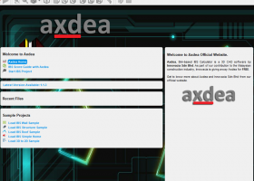 Axdea 3D CAD, BIM based IBS Score screenshot