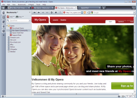 Opera 11 screenshot
