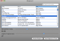 iRingtunes for Mac screenshot