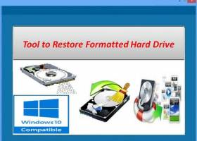 Tool to Restore Formatted Hard Drive screenshot