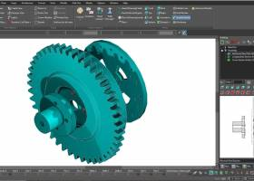 TurboCAD Deluxe 2D/3D screenshot
