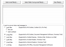 EML Messages to Outlook Converter screenshot