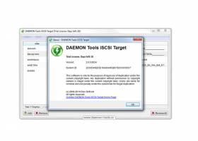 DAEMON Tools iSCSI Target screenshot