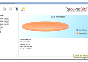 Recover raw data from hard drive screenshot