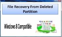 File Recovery From Deleted Partition screenshot
