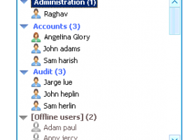 Outlook LAN Messenger screenshot