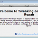 Tweaking.com - Windows Repair Portable