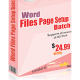 Word File Page Setup Batch