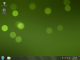Animated Green Lights Wallpaper