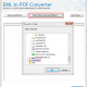 Convert EML emails to PDF format