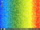 Animated Rainbow Pixels Wallpaper