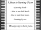 Learn To Play Piano In 5 Easy Steps