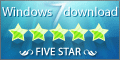 WMBackup received 5 Stars at Windows 7 Download